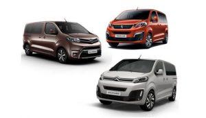 Les nouveaux utilitaires Peugeot Citroen Toyota