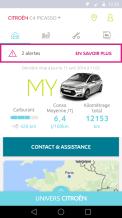My Citroen aplication mobile pour l'entretien et la révision de votre Citroen