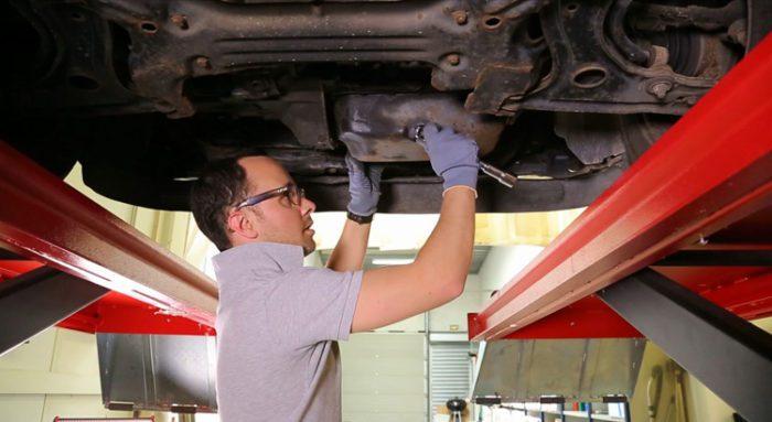Vidange moteur de votre voiture