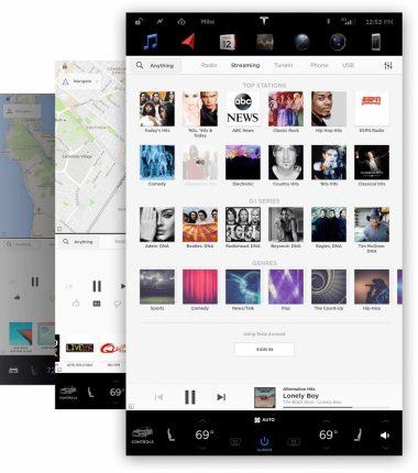 Media Player Tesla 8.0