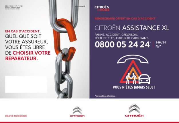 Citroen Assistance XL 7 ans