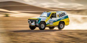 Nissan Patrol Fanta Limon Rallye Dakar 1987