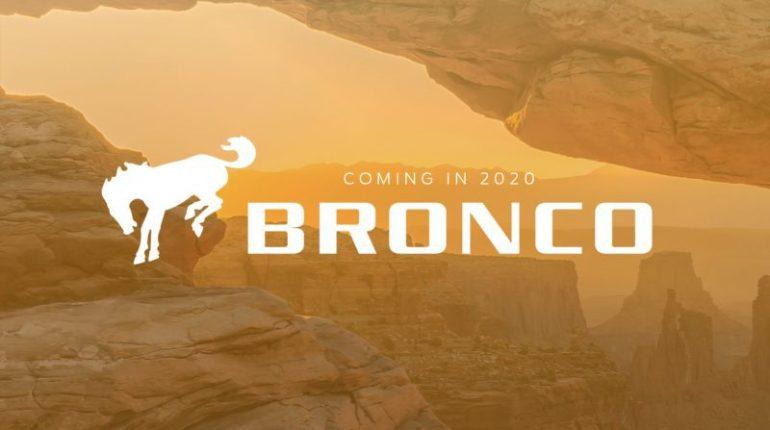 SUV Ford Bronco Mondial pour 2020 confirmé au salon de Detroit 2017