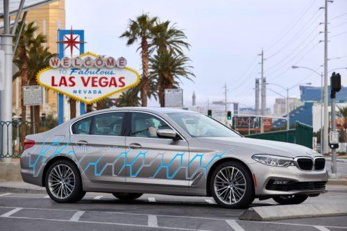 BMW Série 5 Autonome
