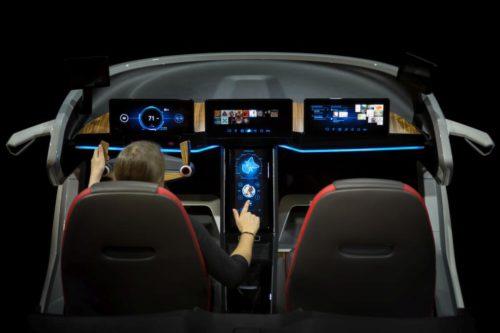 Bosch Cockpit du futur CES 2017