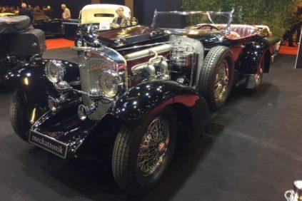 Mercedes Benz Type SS Sports Tourer 1929