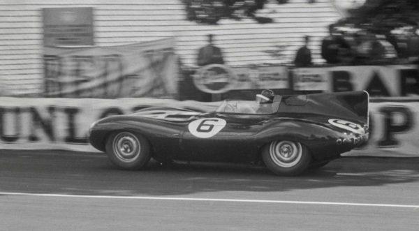 La Jaguar Type D a gagné 3 fois les 24H du Mans