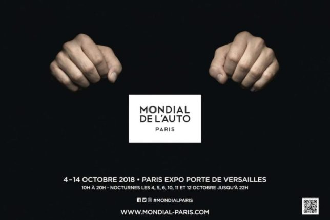 Salon automobile Paris 2018