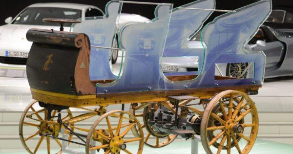 Histoire de la voiture électrique : La première voiture de Porsche était une voiture électrique la P1 en 1898