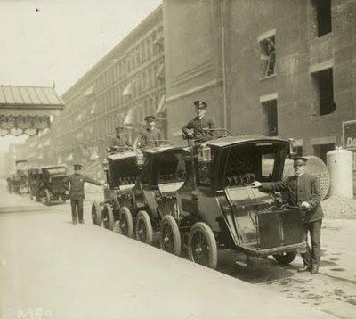 Histoire de la voiture électrique : Taxi électrique à New York en 1897