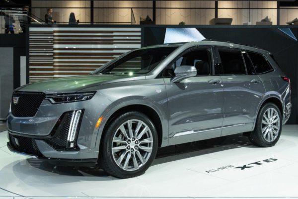 Le Cadillac XT6 présenté au salon de Detroit 2019