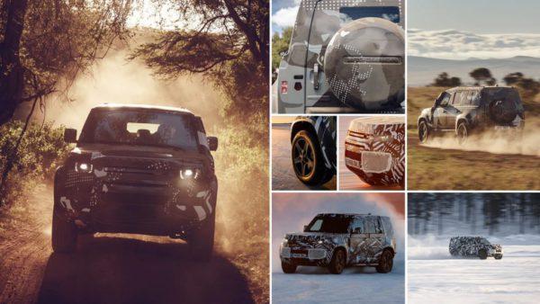 Premières images du nouveau Land Rover Defender 2020 Source Land Rover