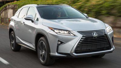 Lexus RX 2015 parmis les SUV et 4x4 les plus fiables en 2019