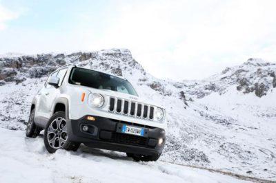 Jeep Renegade 2019 dans la neige