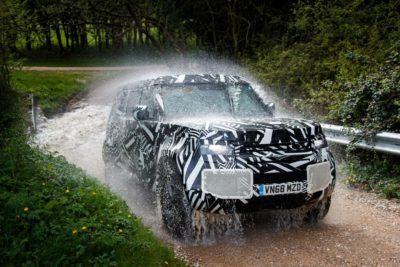 Essai Nouveau Land Rover Defender