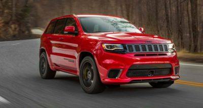 SUV les plus rapides au monde - Jeep Trackhawk