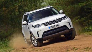 Land Rover Discovery - action de face