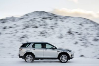 Utilisation du Land Rover Discovery Sport dans la neige