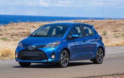 Toyota Yaris 2016 N2 des petites voitures les plus fiables