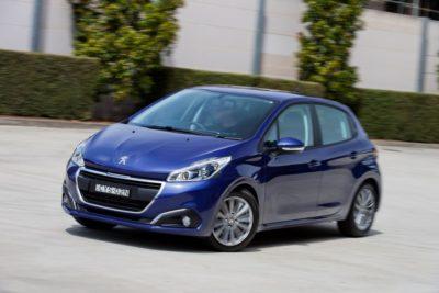 La voiture la plus économique Peugeot 208 avec la consommation de carburant