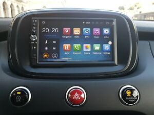 Fiat 500X - navigation par satellite