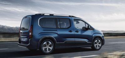 Peugeot Rifter - meilleures voitures 7 places