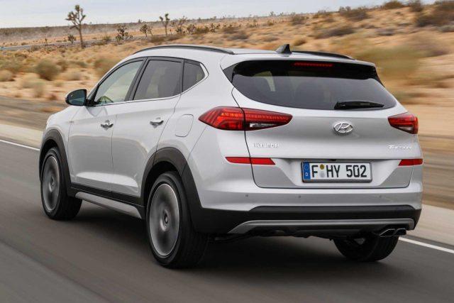 Hyundai Tucson - arrière