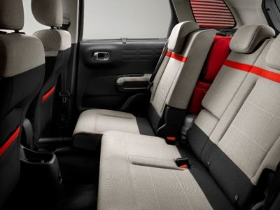 Citroën C3 Aircross - sièges arrière
