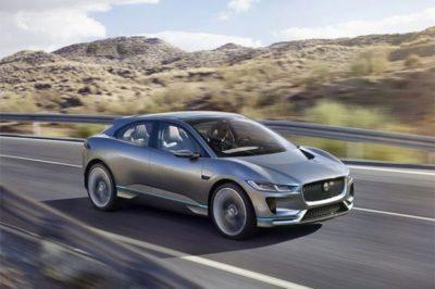 Jaguar I-Pace parmi les meilleur voiture électrique 2020