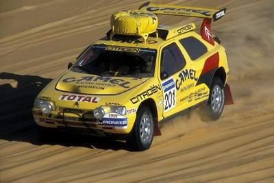 Ari Vatanen sur le paris Tripoli Dakar 1991 : la première victoire de Citroën sur le prestigieux rallye raid