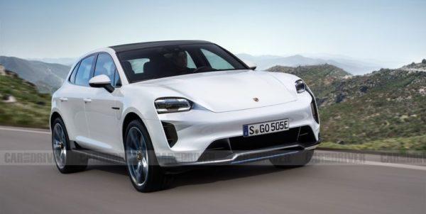 La nouvelle Porsche Macan SUV entièrement électrique est en route