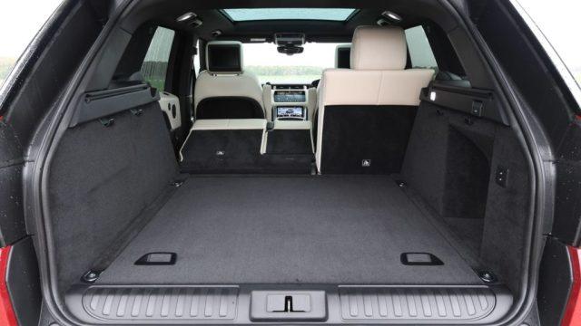 Range Rover Sport coffre
