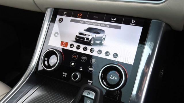 Intérieur du Range Rover Sport