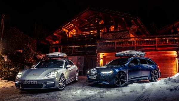 Audi RS 6 Avant vs Porsche Panamera Sport Turismo