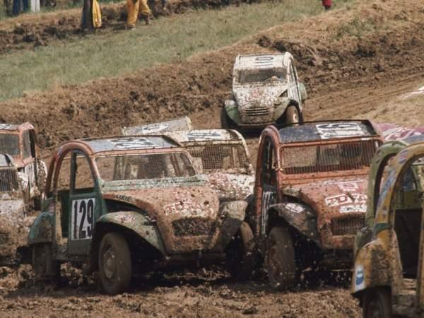 Le 2 Cv Cross, une épreuve qui a vu le jour dans les années 1970