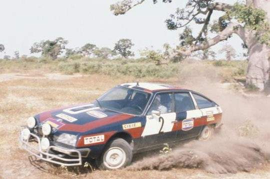 Rallye du Sénégal 1977 la CX fait son Show