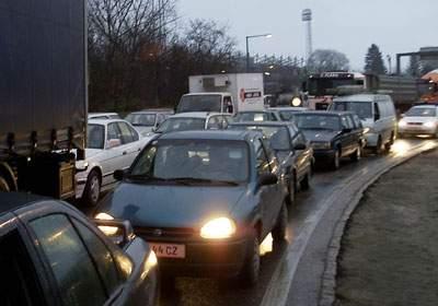 Embouteillage Vienne