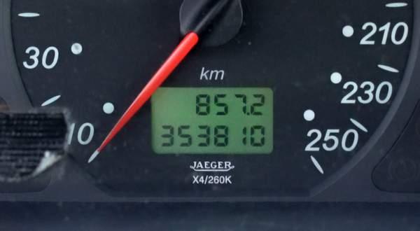 L'achat d'une voiture de plus de 160 000 km est-il mauvais ?