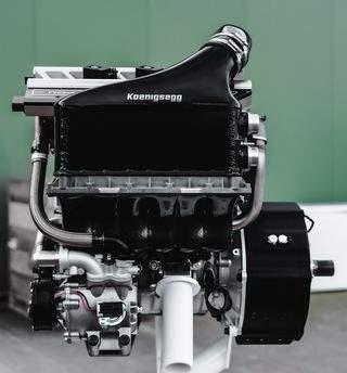 Moteur Freevalve Koenigsegg