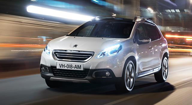 Le Peugeot 2008 a obtenu 5 étoiles Euro NCAP