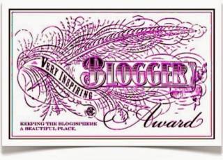 VeryInspiringBloggerAward