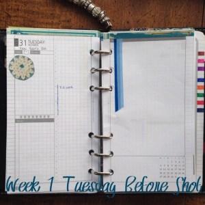 Week 1 Tuesday Before Shot