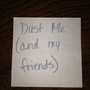 Dust Me (And My Friends)