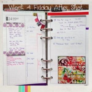 Week 4 Friday After Shot