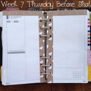 Week 7 Thursday Before Shot