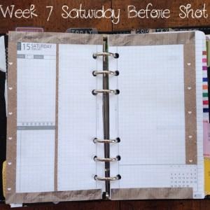 Week 7 Saturday Before Shot