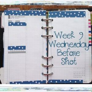 Week 9 Wednesday Before Shot