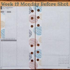 Week 12 Monday Before Shot