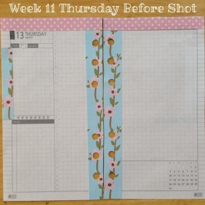 Week 11 Thursday Before Shot