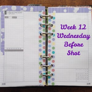 Week 12 Wednesday Before Shot